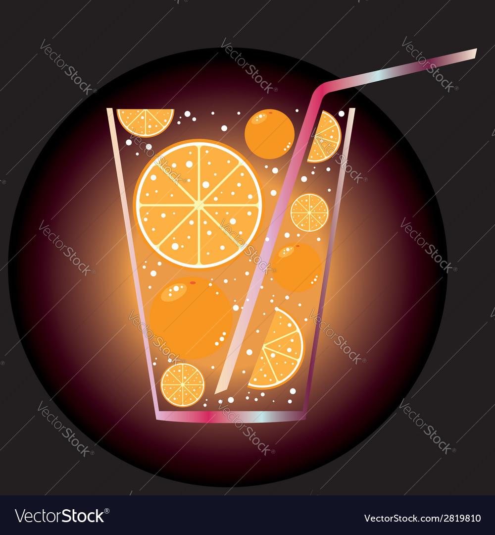 Citrus juice vector | Price: 1 Credit (USD $1)