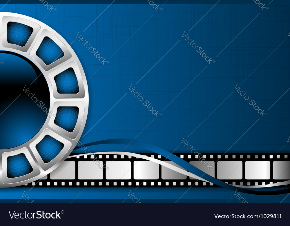 Cinema theme background vector | Price: 1 Credit (USD $1)