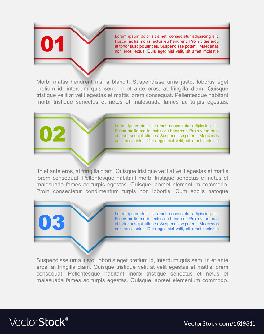 Modern infographics template vector | Price: 1 Credit (USD $1)