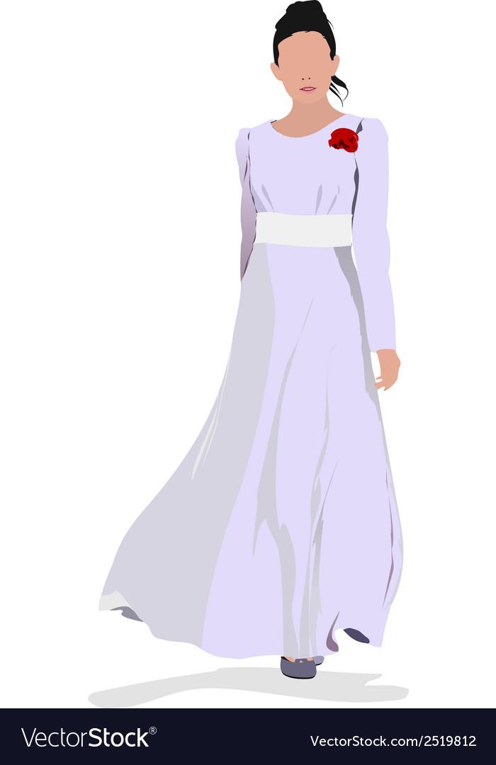 Al 0338 bride vector | Price: 1 Credit (USD $1)