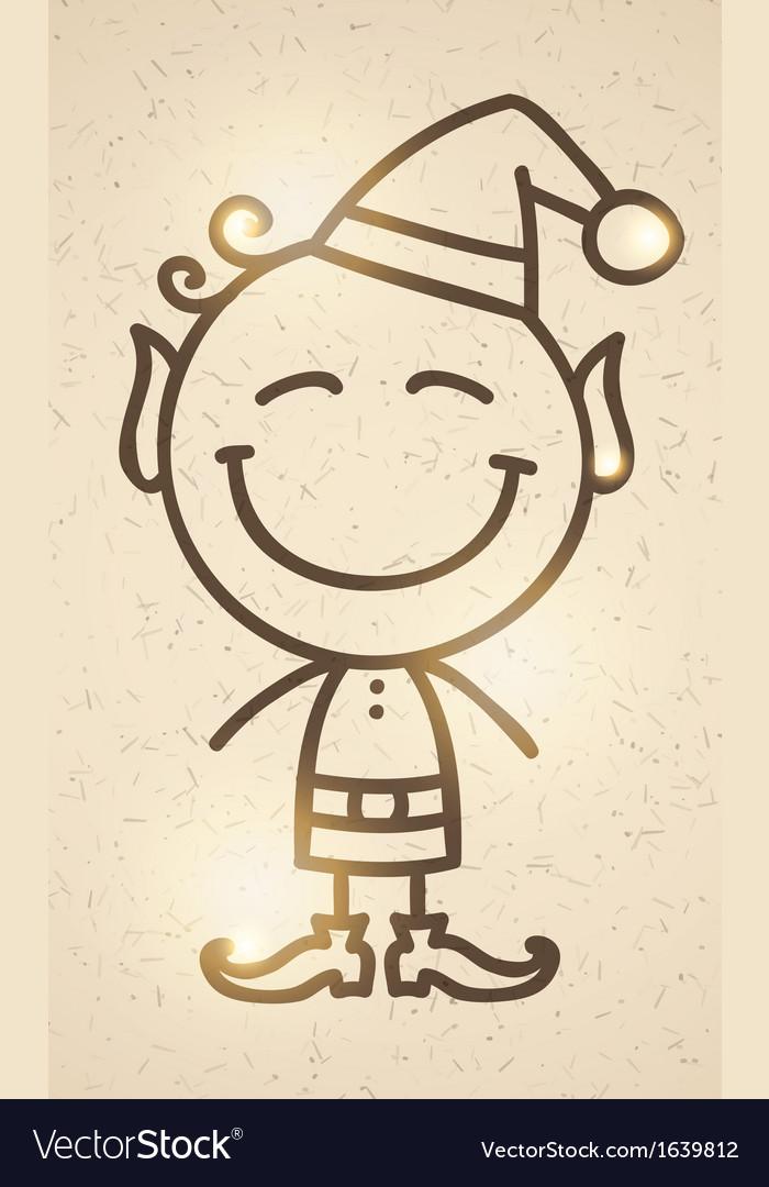 Christmas elf vector   Price: 1 Credit (USD $1)