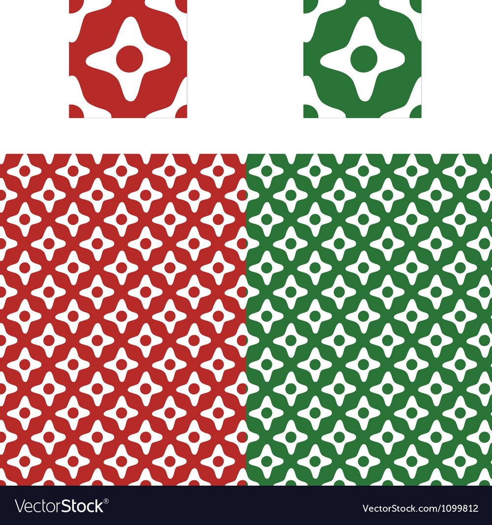 Christmas pattern swatch vector | Price: 1 Credit (USD $1)