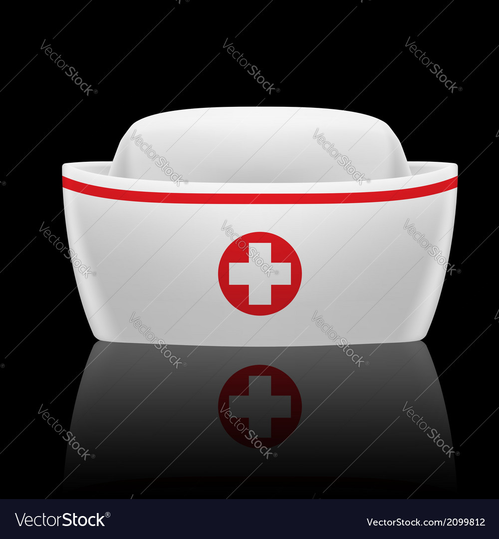 Nurse cap vector | Price: 1 Credit (USD $1)