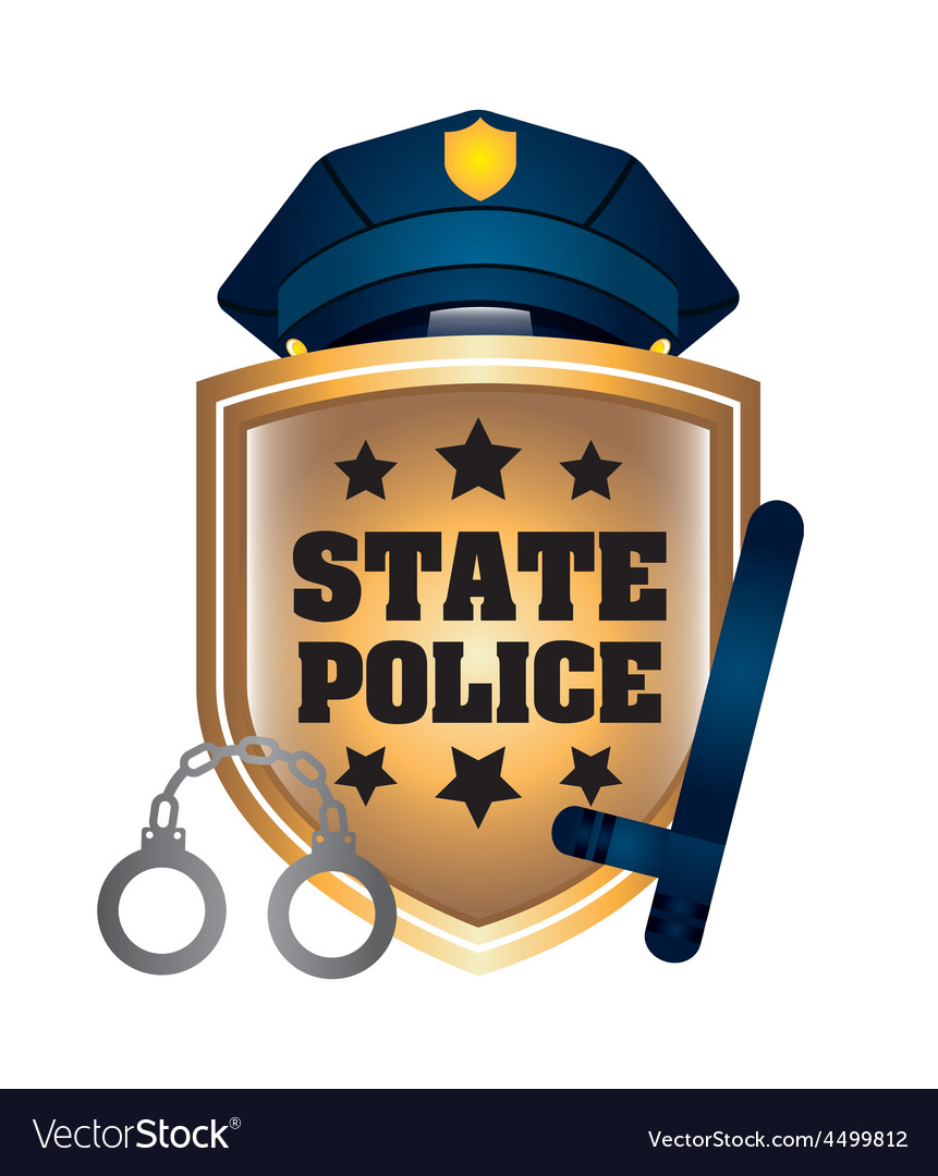 State police vector | Price: 1 Credit (USD $1)