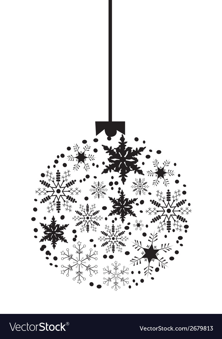 Christmas balls vector | Price: 1 Credit (USD $1)