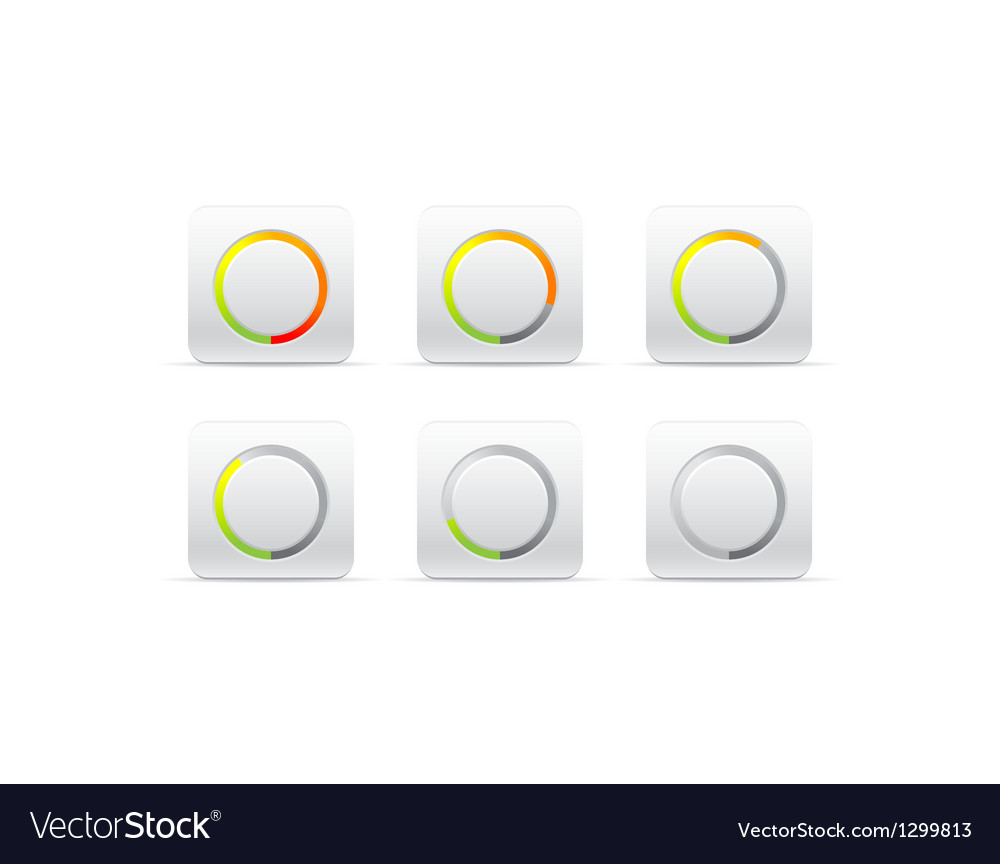 Circular progress bar vector | Price: 1 Credit (USD $1)