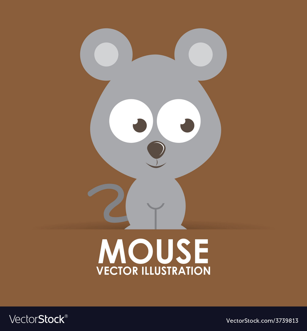 Mouse cute vector | Price: 1 Credit (USD $1)