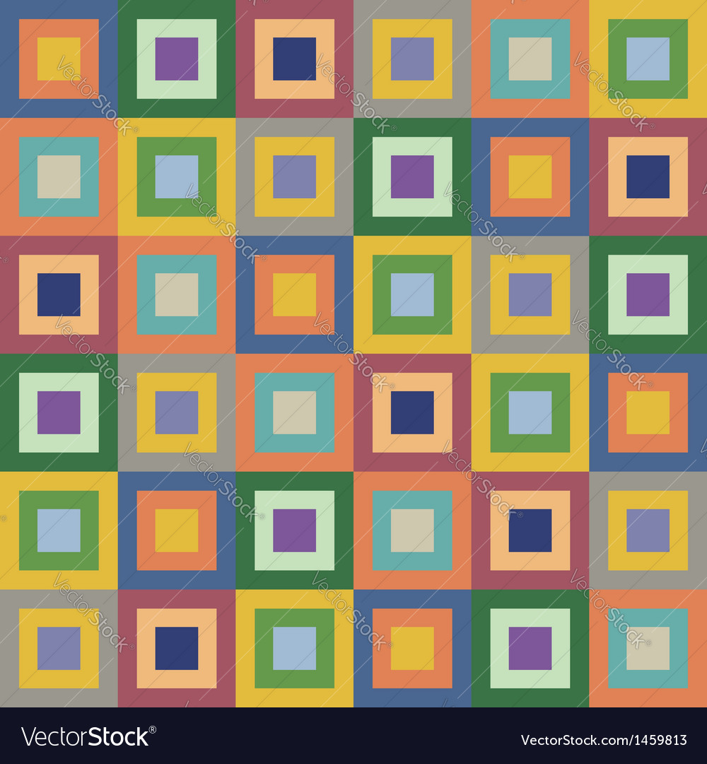 Retro styled seamless pattern vector   Price: 1 Credit (USD $1)