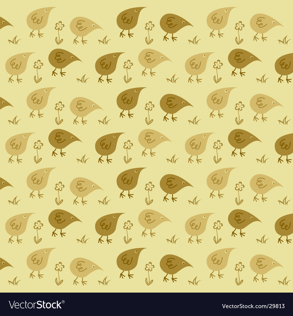 Stylized chickens vector | Price: 1 Credit (USD $1)