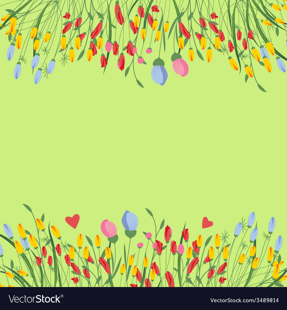 Flowers pattern vector | Price: 1 Credit (USD $1)