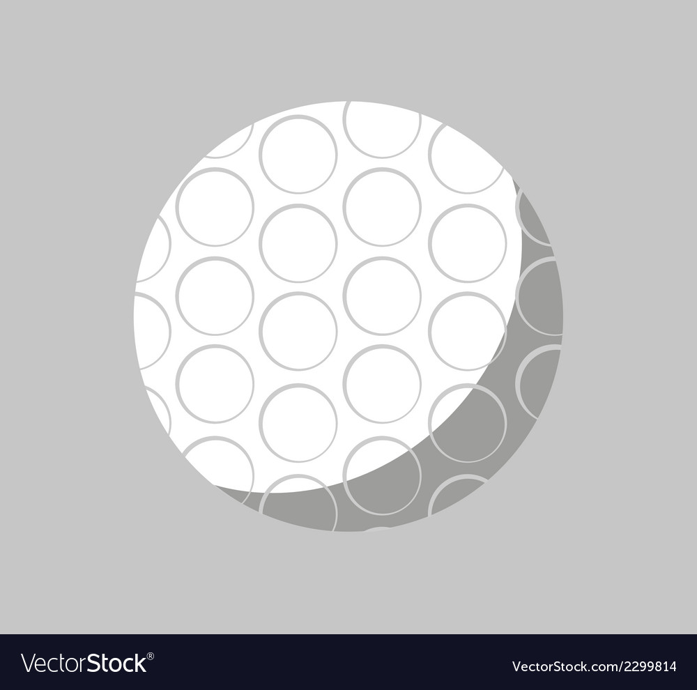 Golf icon symbol logo stock vector | Price: 1 Credit (USD $1)