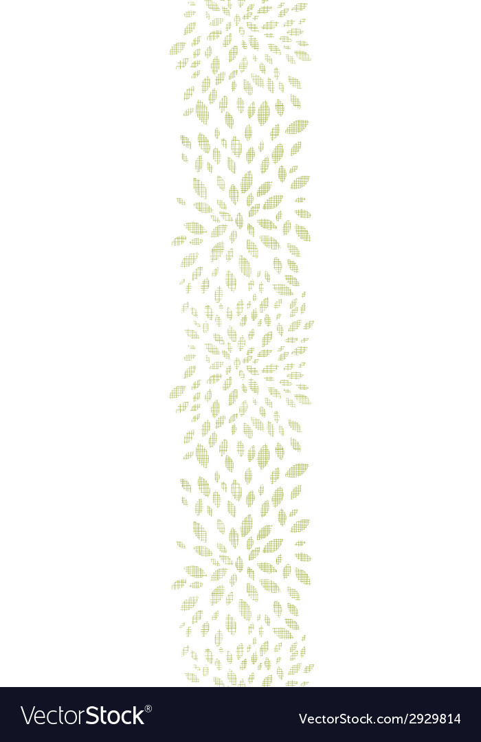 Green leaves explosion textile texture vertical vector | Price: 1 Credit (USD $1)