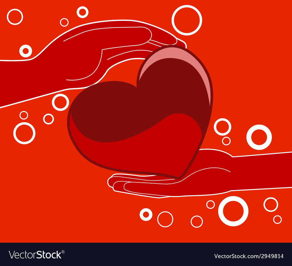 Love heart gift - vector | Price: 1 Credit (USD $1)