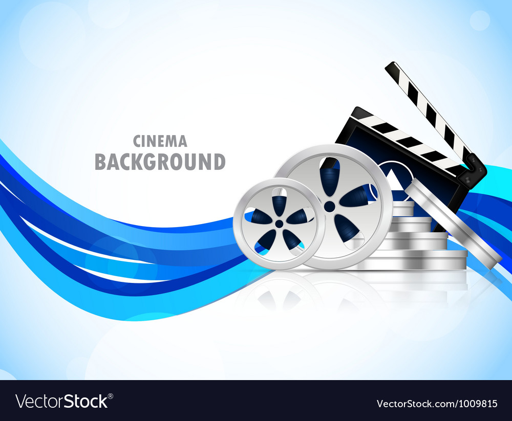 Cinema background vector | Price: 1 Credit (USD $1)