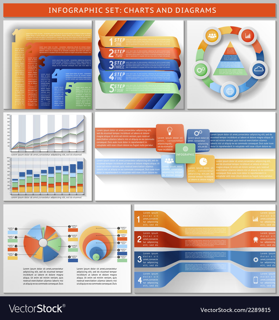 Infographic set vector | Price: 1 Credit (USD $1)