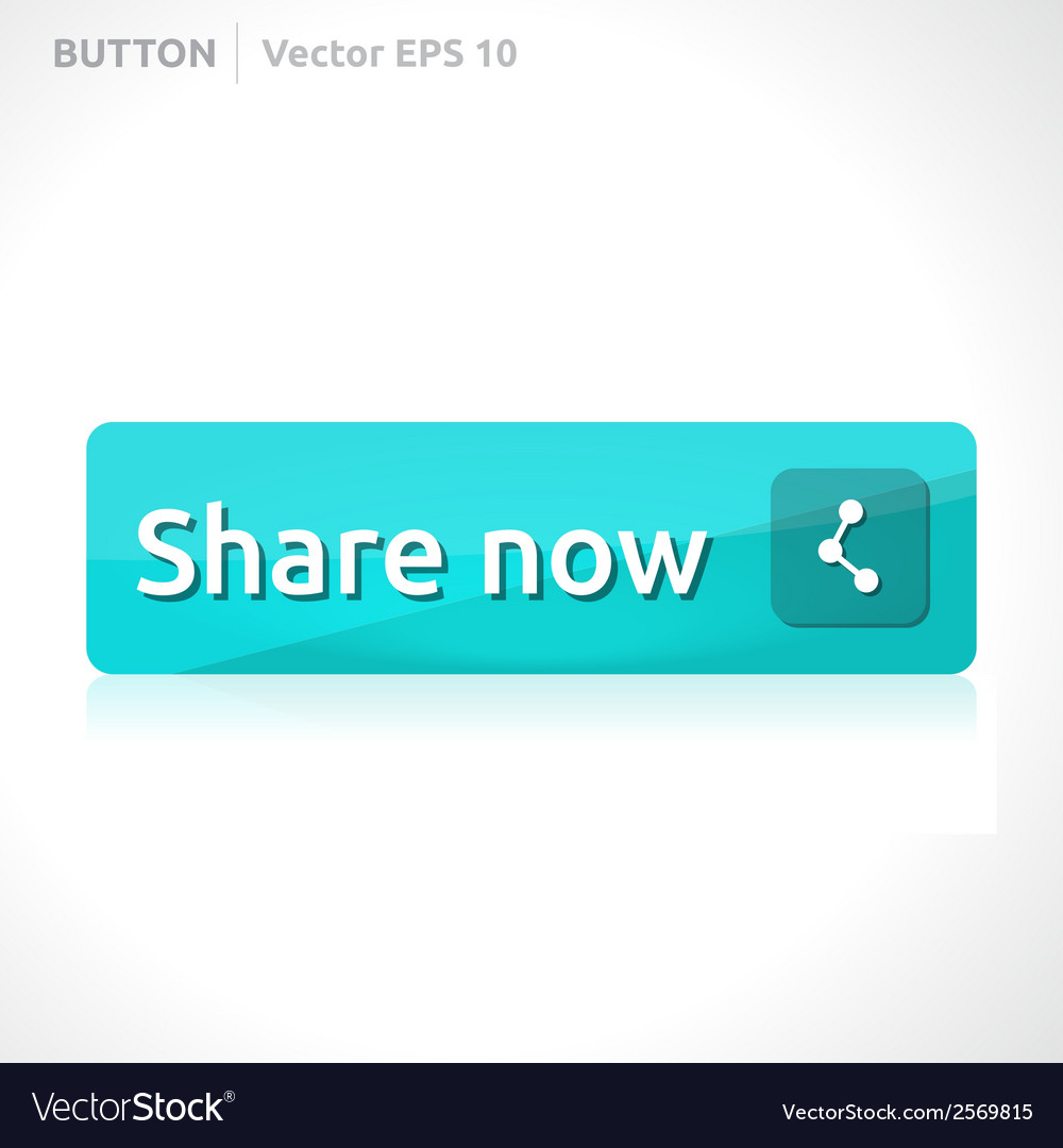 Share now button template vector | Price: 1 Credit (USD $1)