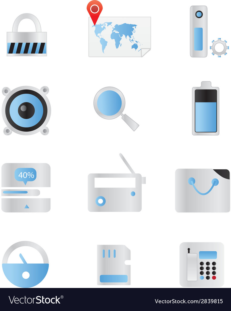 Web icons 43 vector | Price: 1 Credit (USD $1)