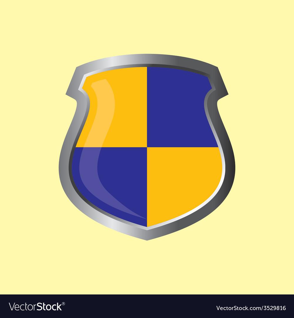 Insignia theme shield vector | Price: 1 Credit (USD $1)