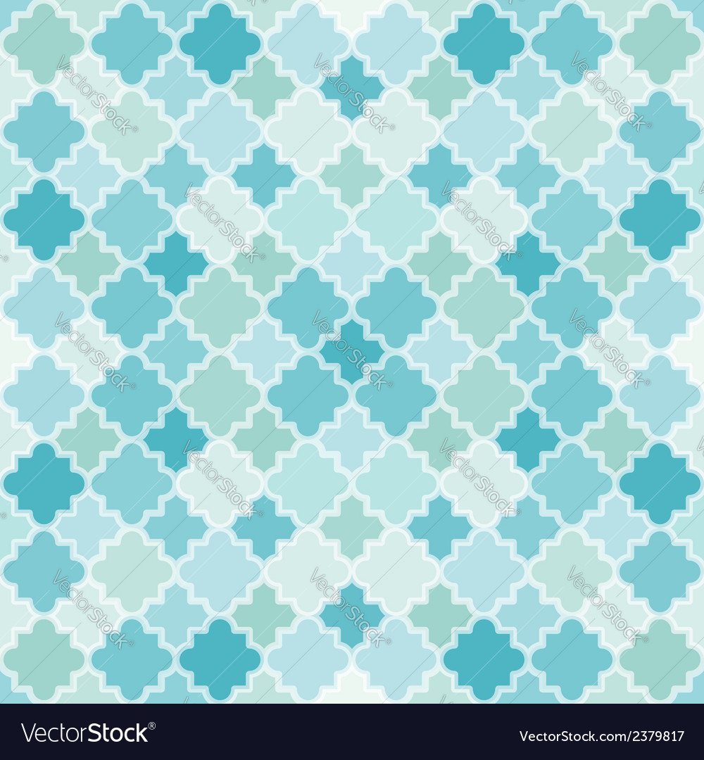 Abstract turquoise pattern vector | Price: 1 Credit (USD $1)