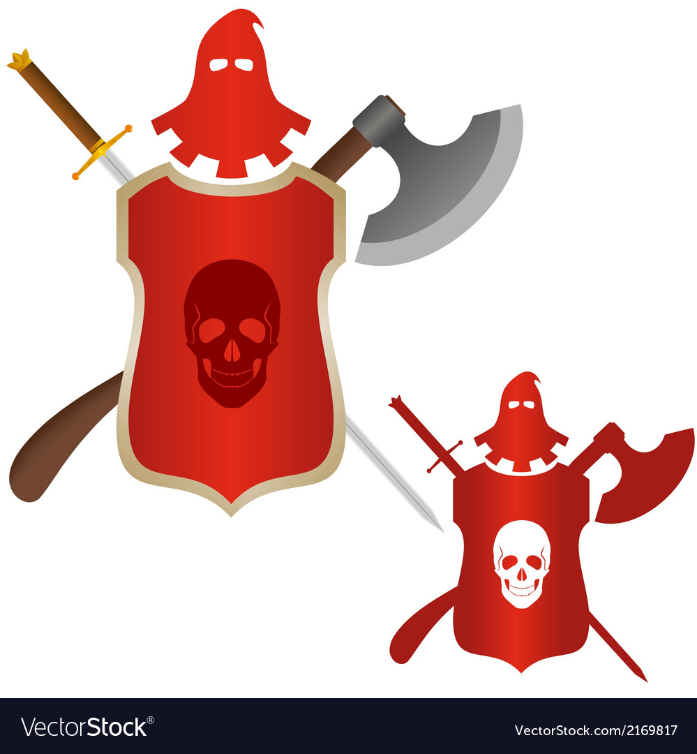 Medieval weapons executioner vector | Price: 1 Credit (USD $1)