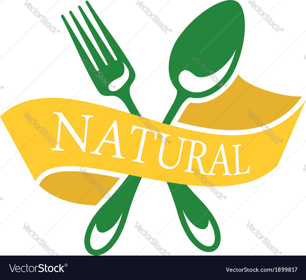 Restaurant icon depicting natural food vector | Price: 1 Credit (USD $1)