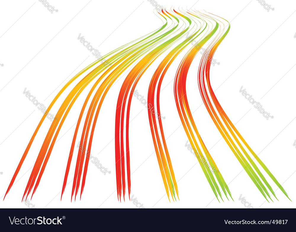 Wavy lines vector | Price: 1 Credit (USD $1)