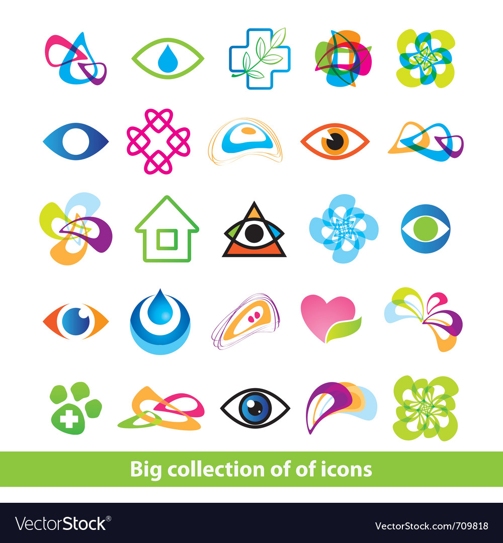 Big collection of icons vector | Price: 1 Credit (USD $1)