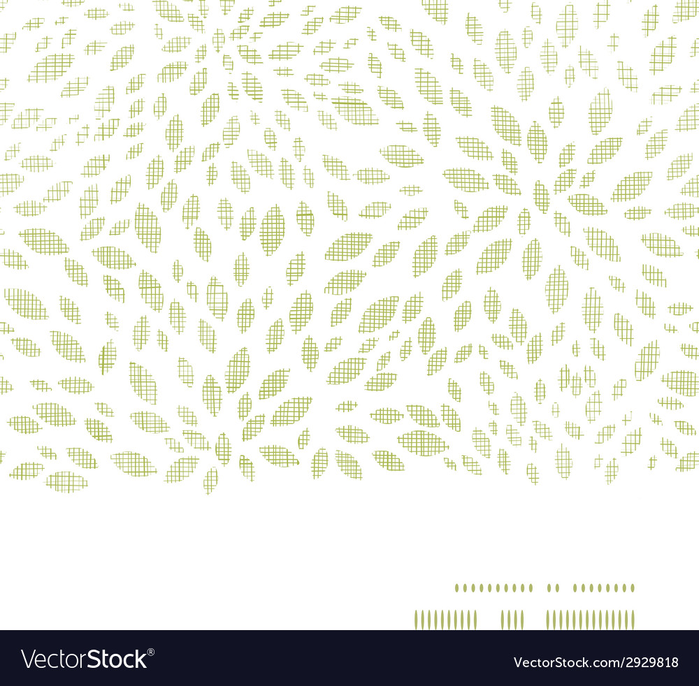 Green leaves explosion textile texture horizontal vector | Price: 1 Credit (USD $1)