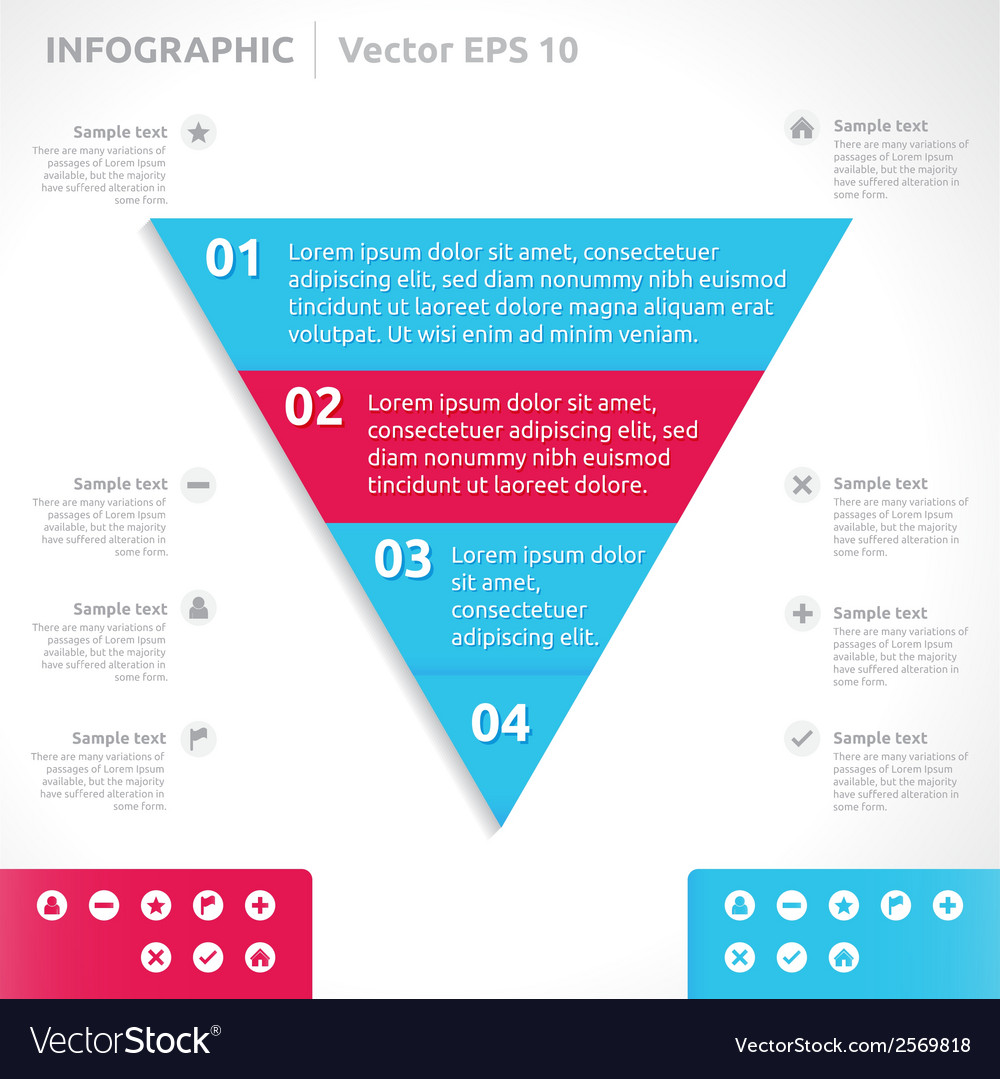 Infographic design template vector   Price: 1 Credit (USD $1)