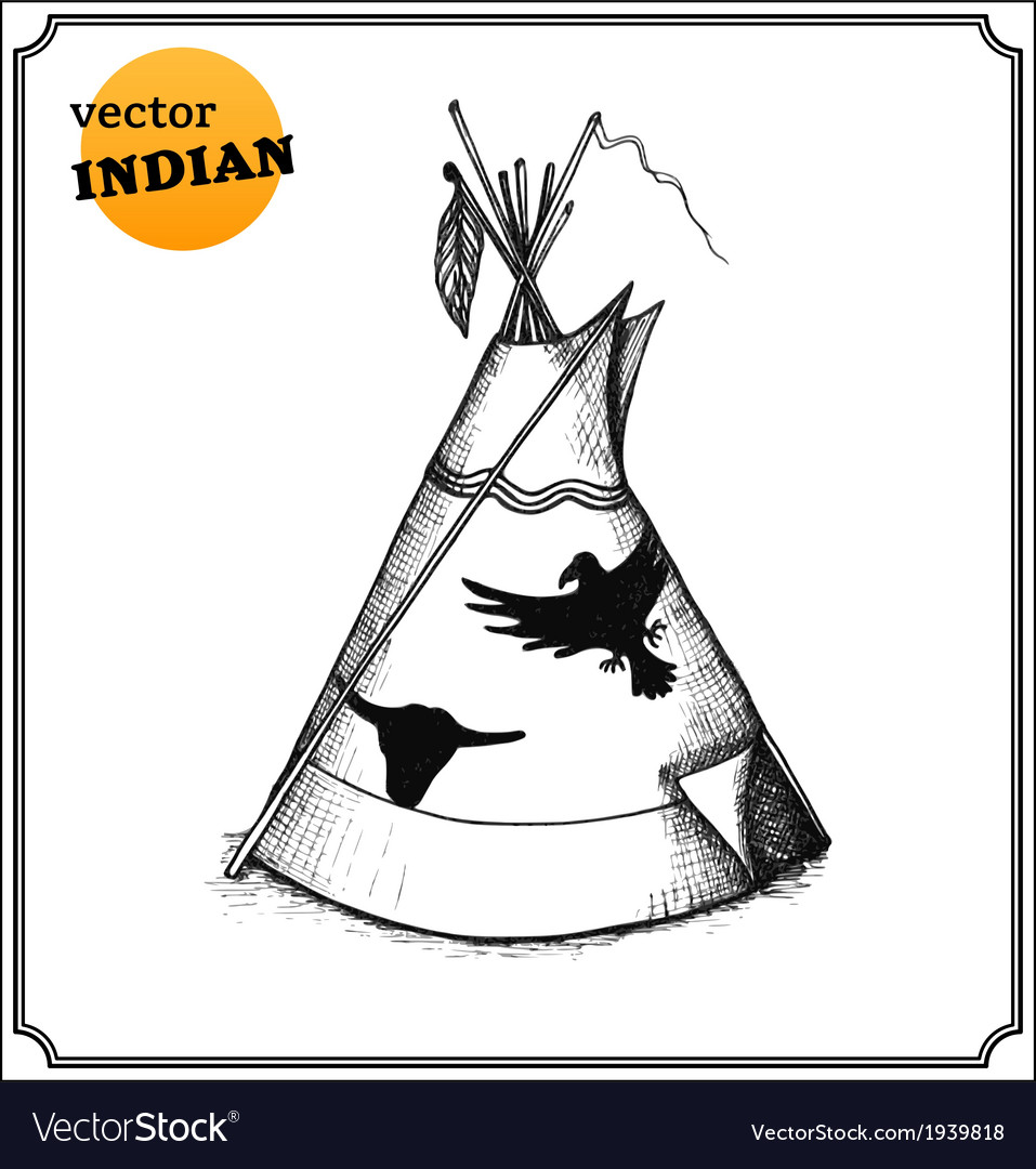 Tepee vector | Price: 1 Credit (USD $1)