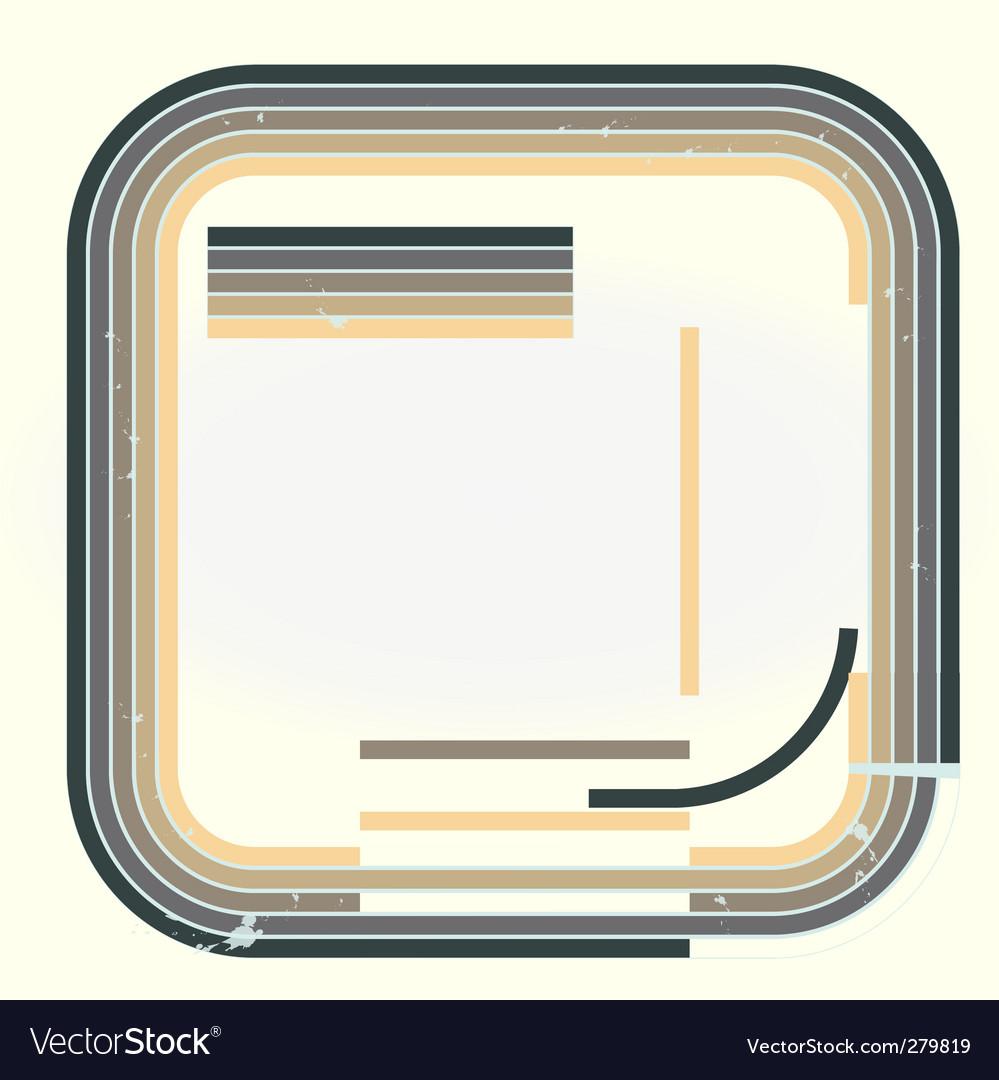 Grunge retro background vector | Price: 1 Credit (USD $1)