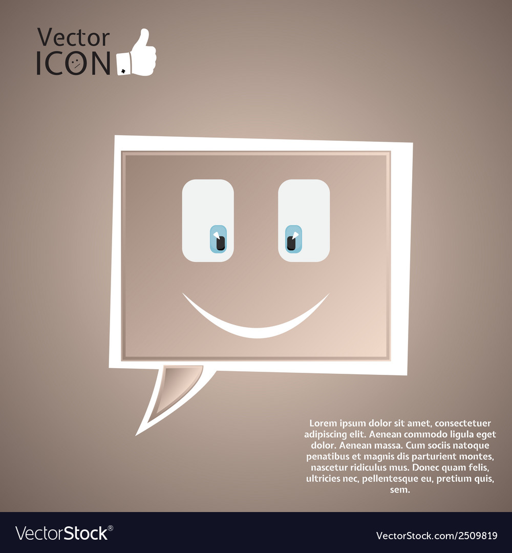 Icon on the background vector | Price: 1 Credit (USD $1)