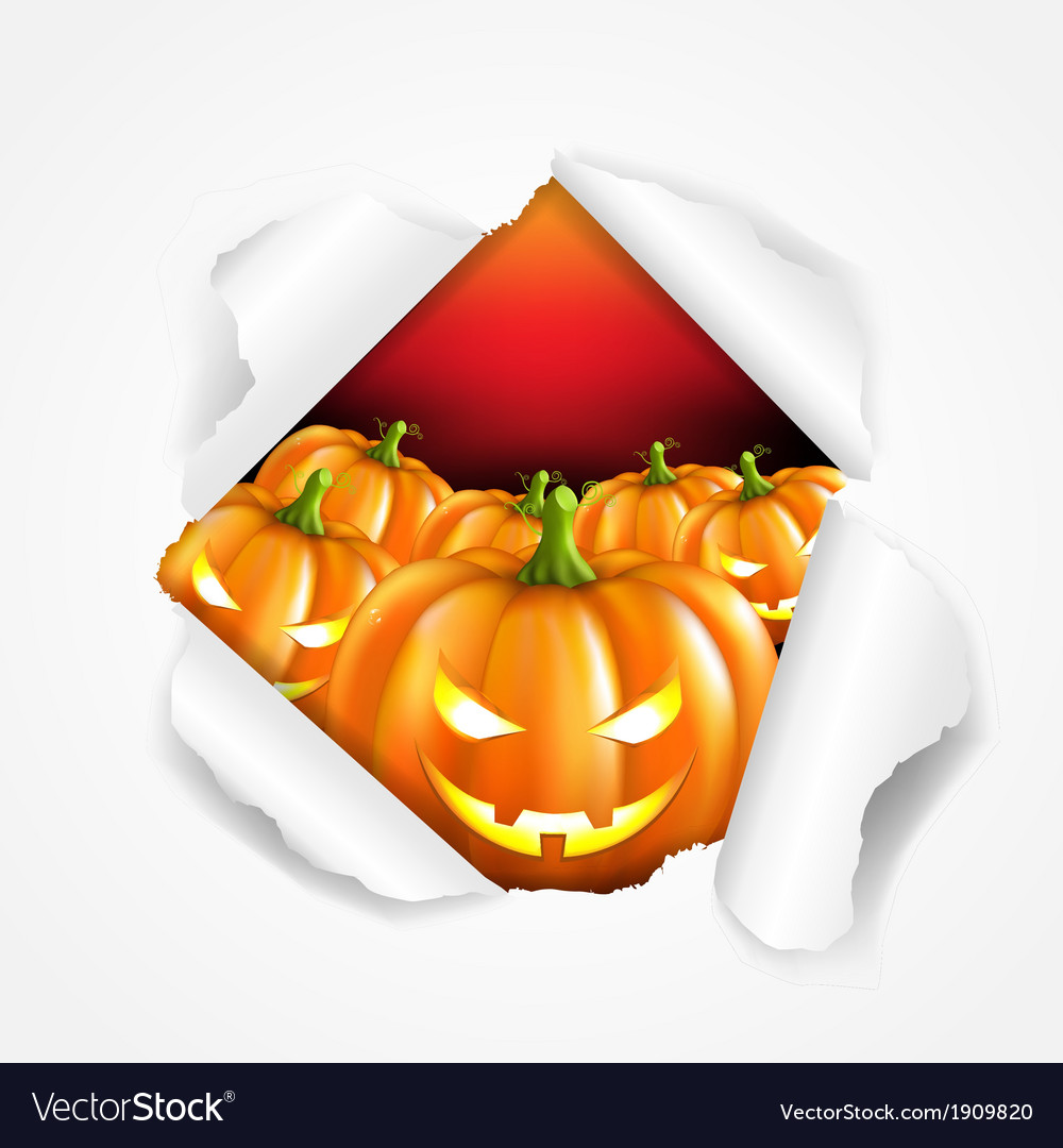 Retro halloween poster vector | Price: 1 Credit (USD $1)