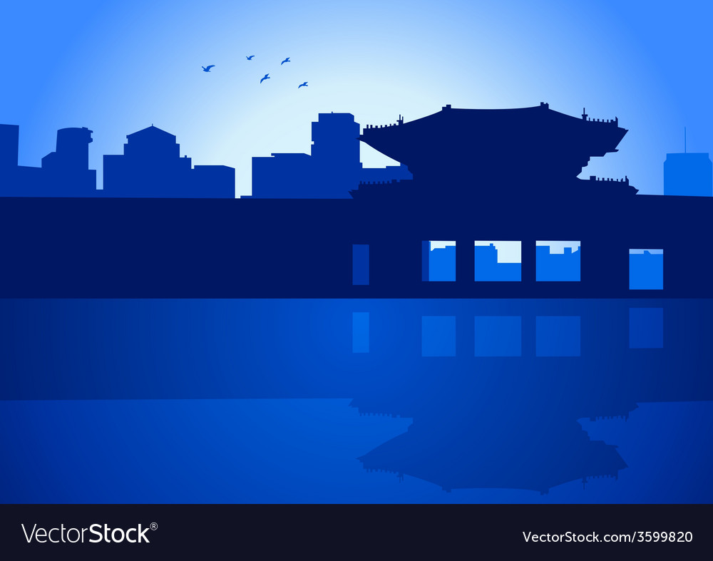 Seoul vector | Price: 1 Credit (USD $1)
