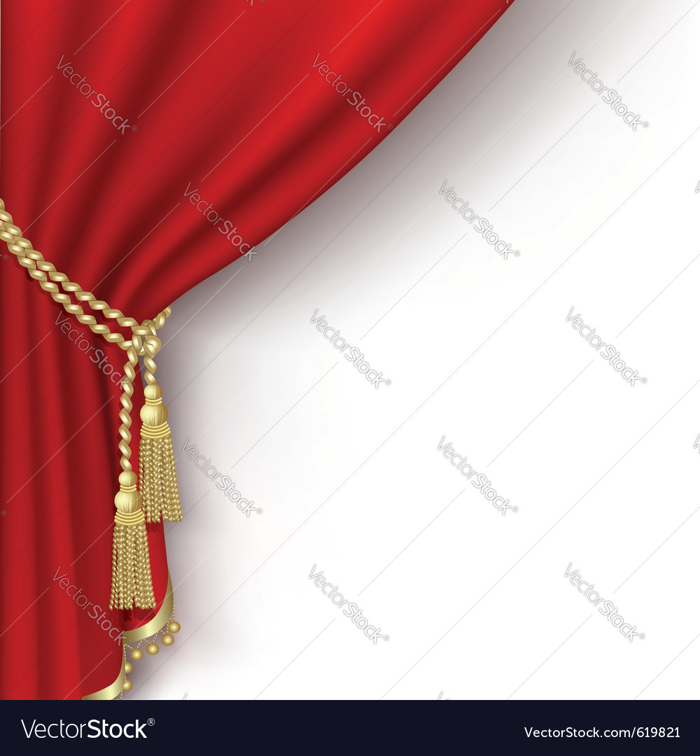 Curtain background vector | Price: 1 Credit (USD $1)