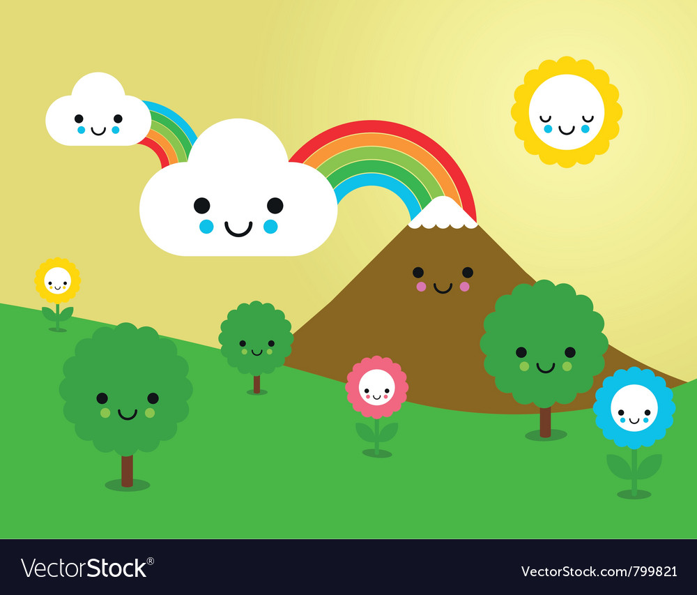 Cute nature vector | Price: 1 Credit (USD $1)