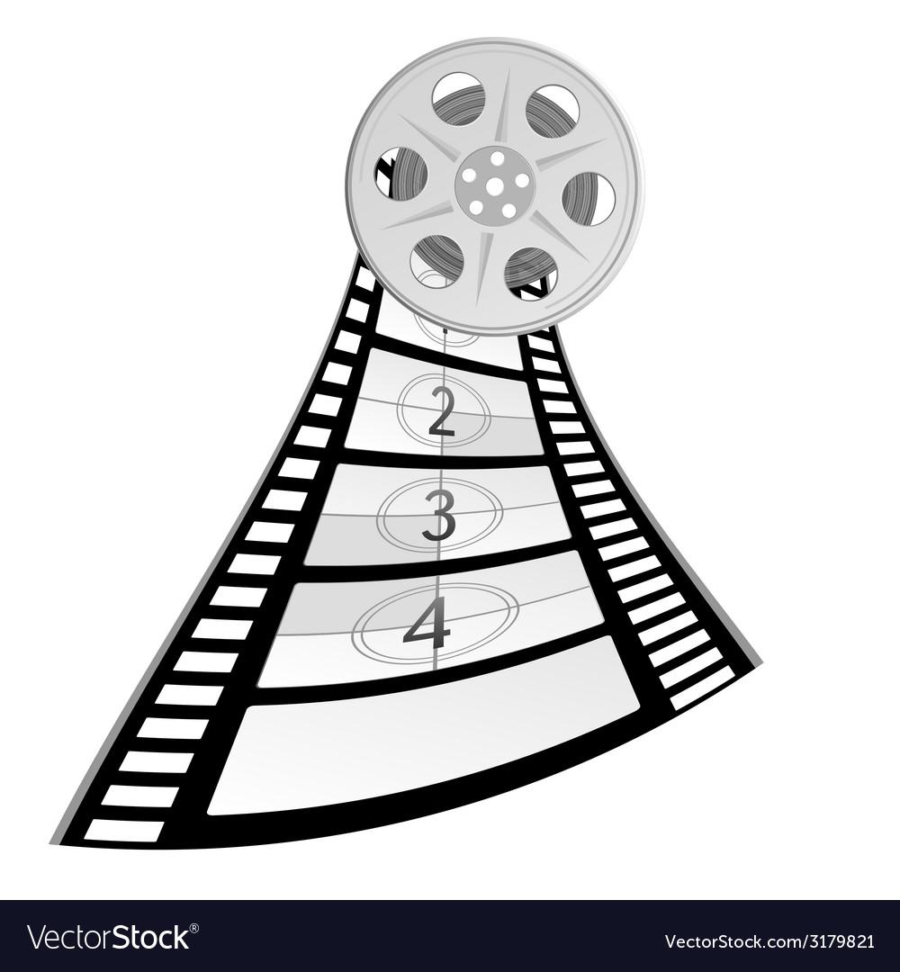 Film tape old vector | Price: 1 Credit (USD $1)