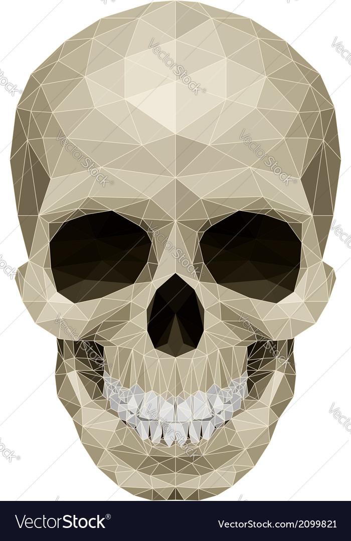 Mosaic skull vector | Price: 1 Credit (USD $1)