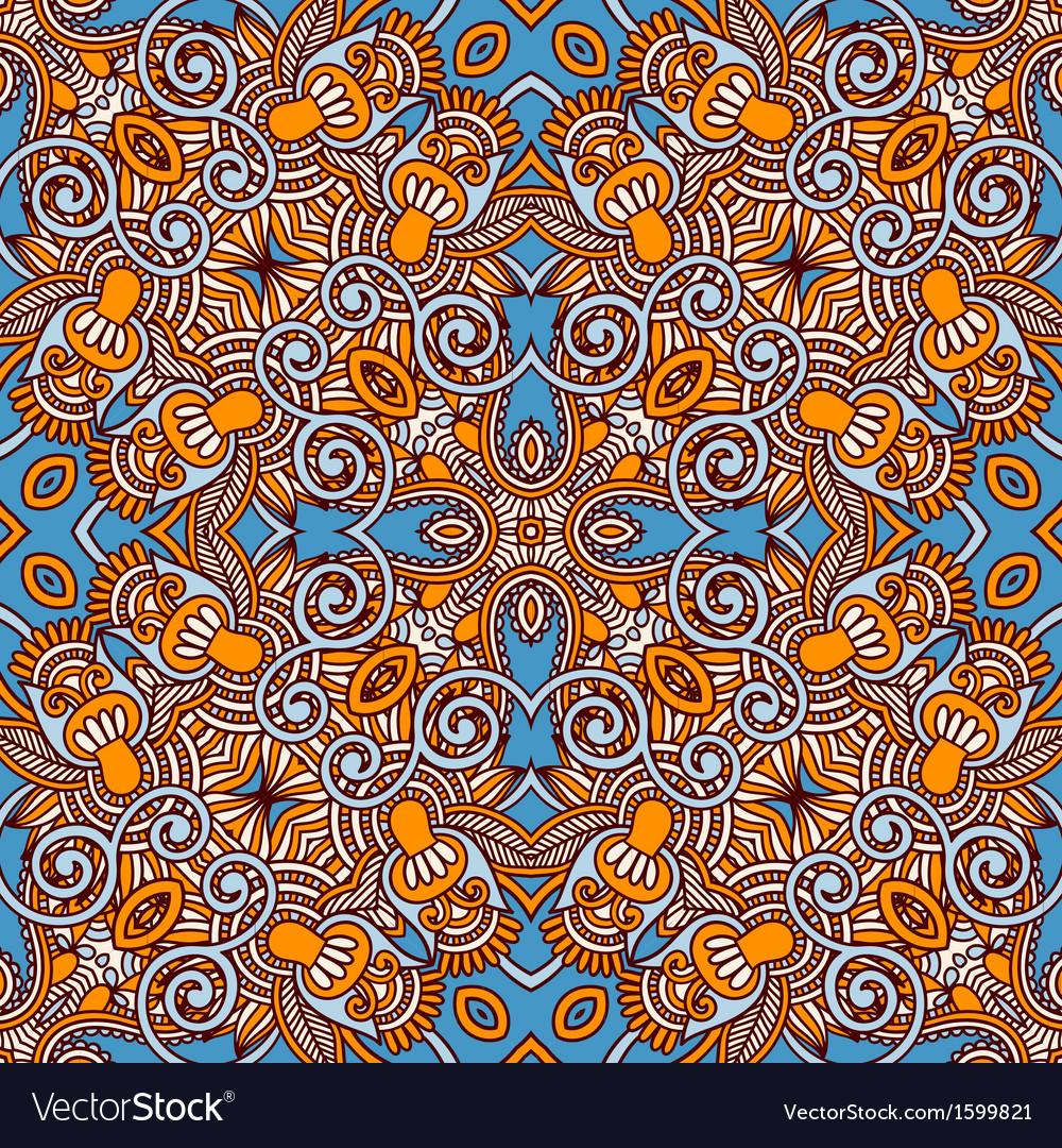Original retro paisley seamless pattern vector | Price: 1 Credit (USD $1)