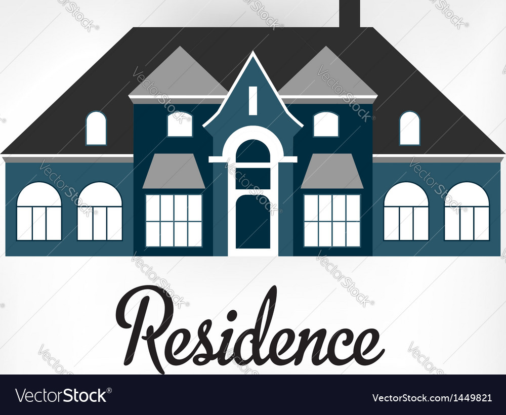Residence vector | Price: 1 Credit (USD $1)