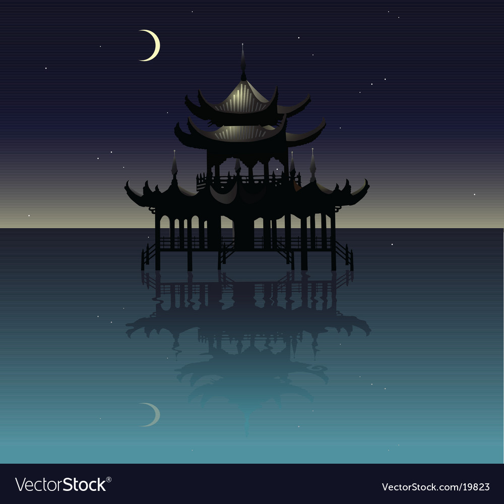 Gazebo design vector | Price: 1 Credit (USD $1)