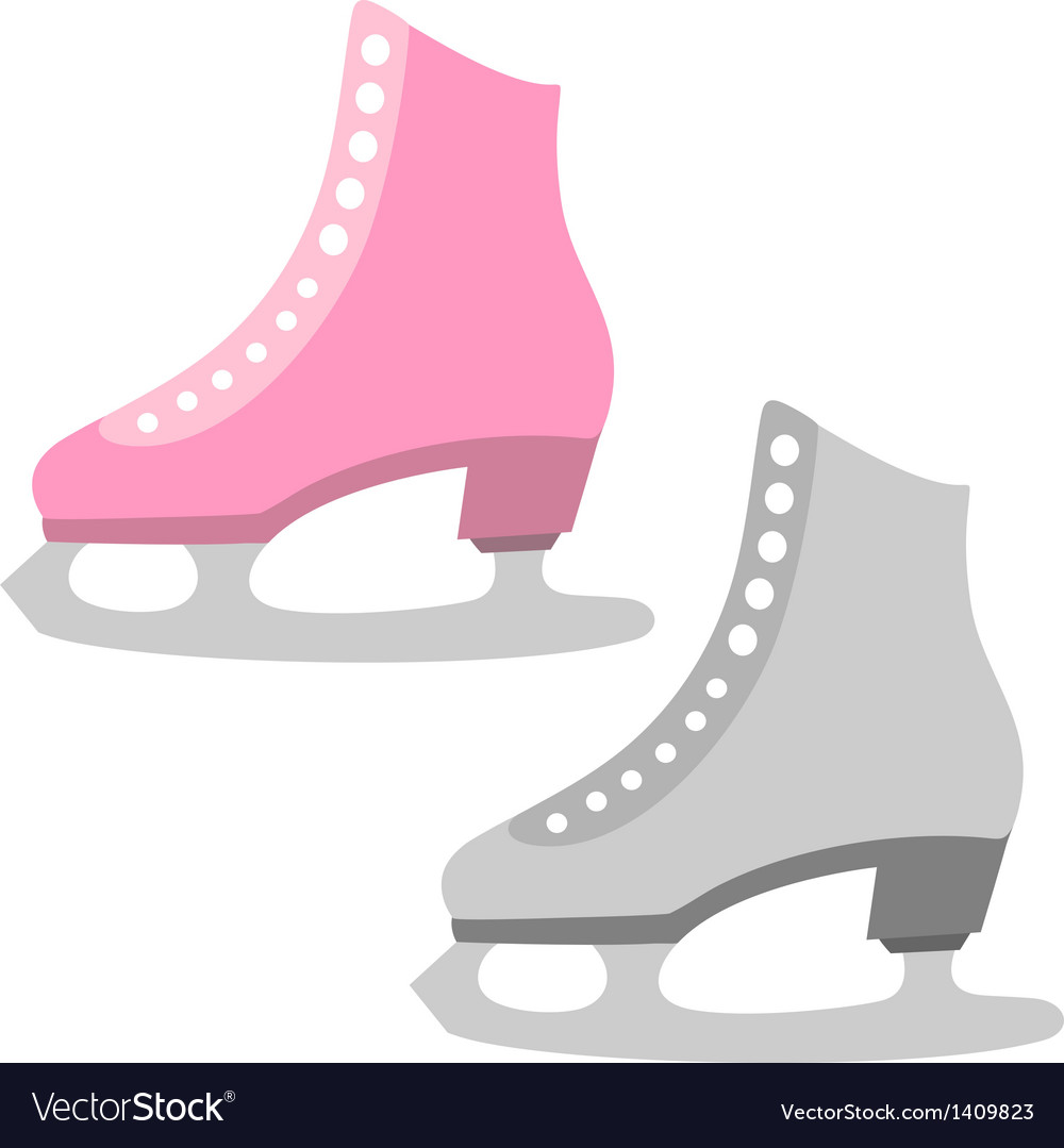 Ice skate vector | Price: 1 Credit (USD $1)