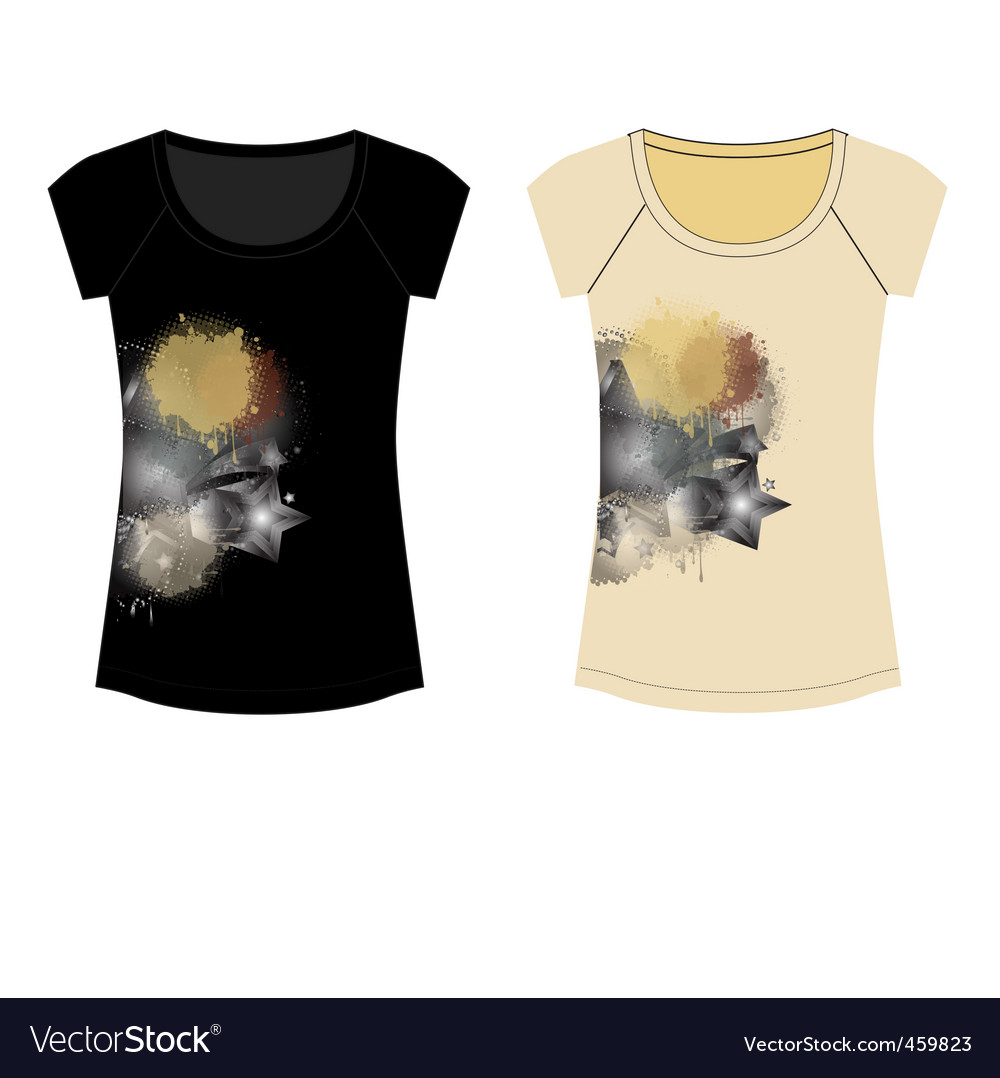 Party t-shirt vector | Price: 1 Credit (USD $1)
