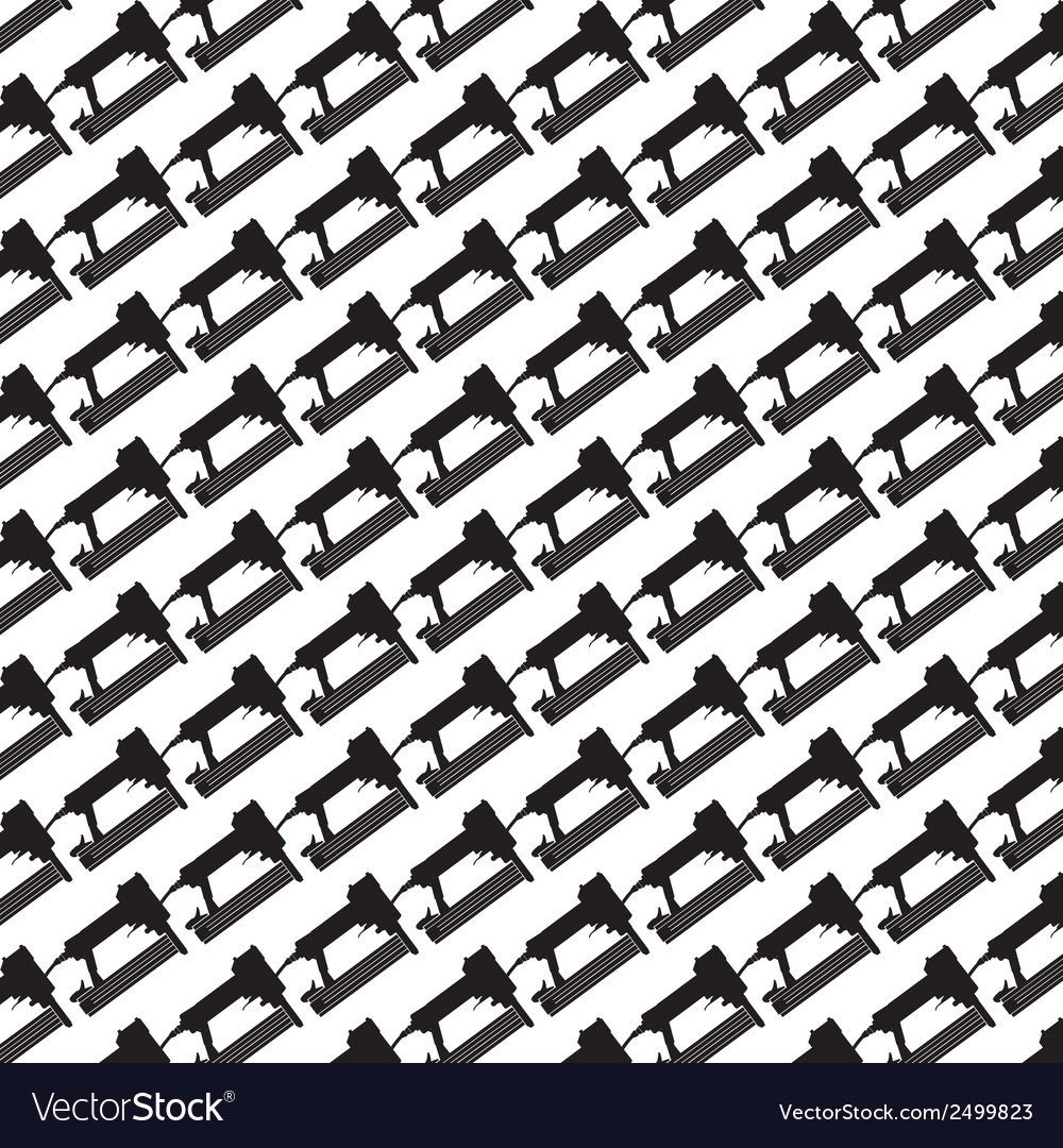 Seamless pattern background of air nailer vector | Price: 1 Credit (USD $1)
