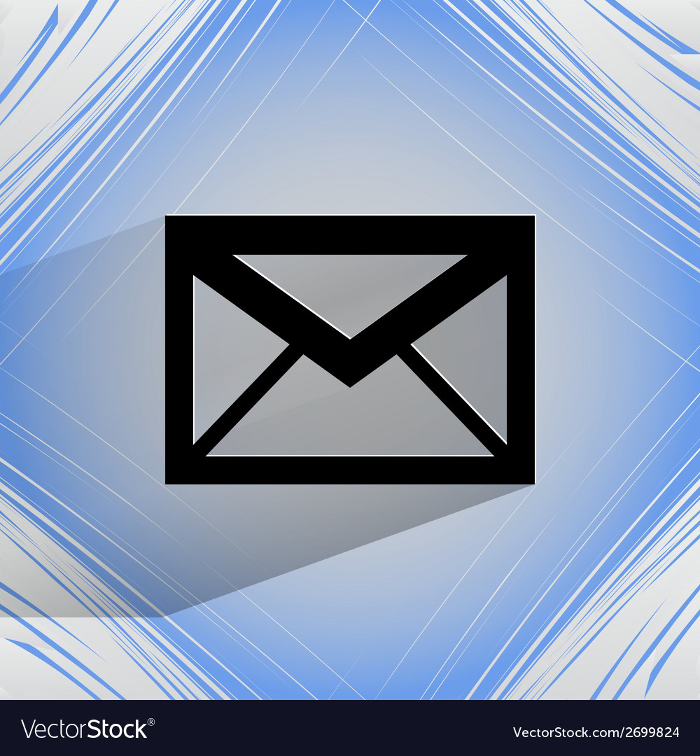 Mail envelope flat modern web design on a flat vector | Price: 1 Credit (USD $1)