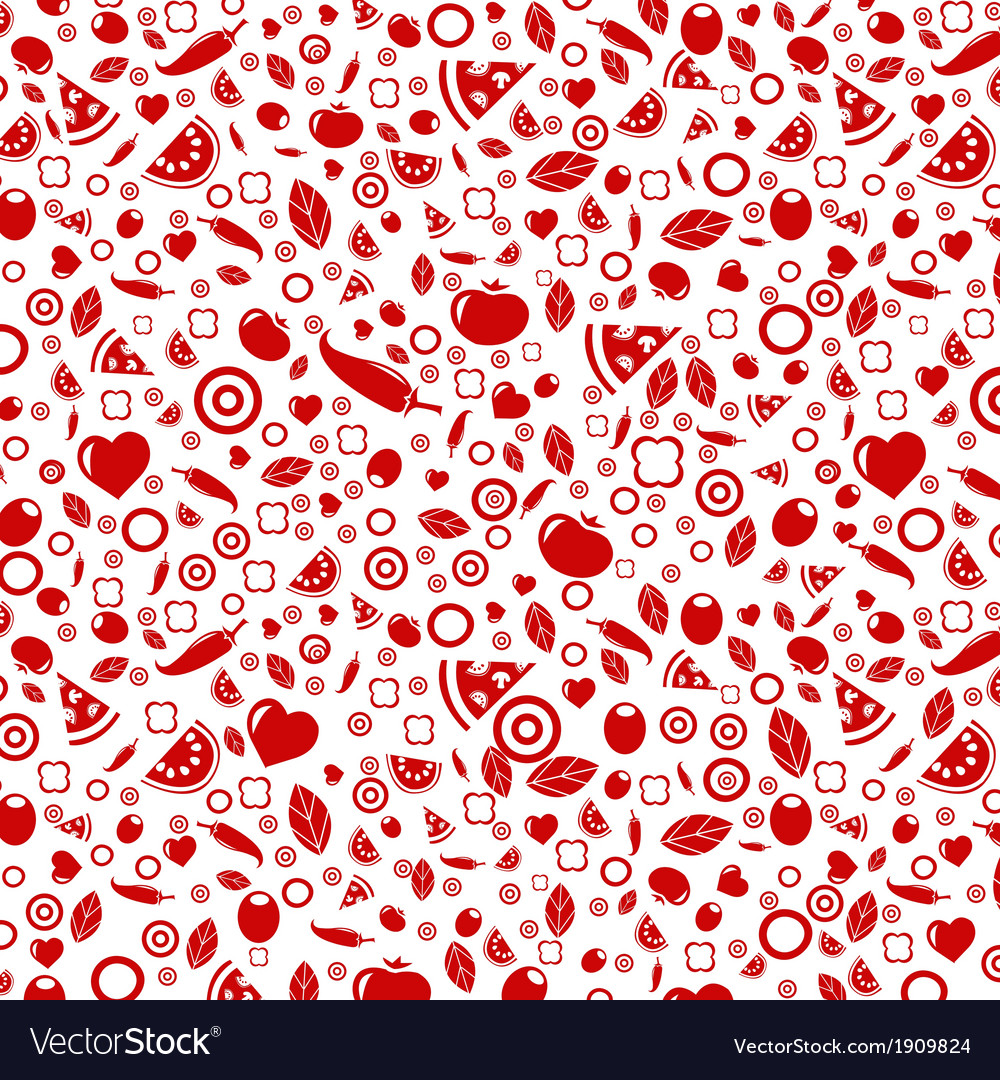 Red restaurant background vector | Price: 1 Credit (USD $1)