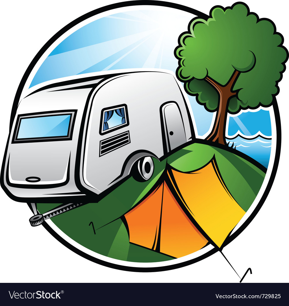 Camping vector | Price: 3 Credit (USD $3)