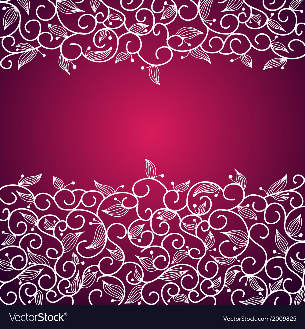 Lace floral ornamental frame vector | Price: 1 Credit (USD $1)