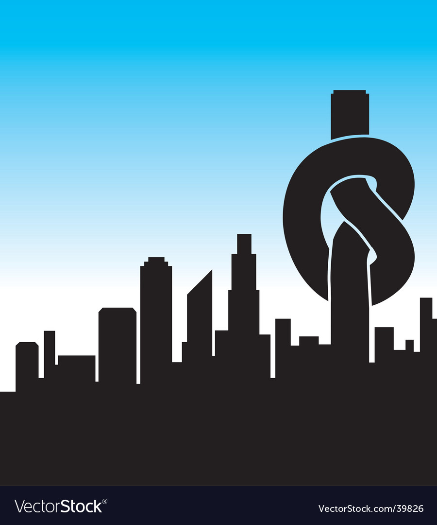 City knot vector | Price: 1 Credit (USD $1)