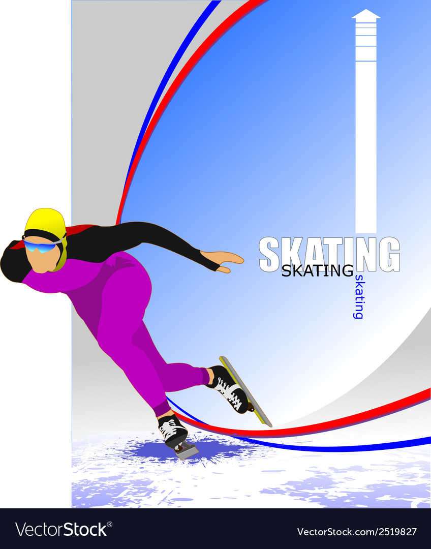Al 0340 skating 05 vector | Price: 1 Credit (USD $1)